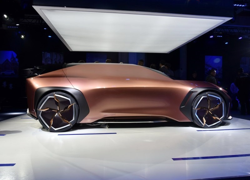 Chery Auto Debuted EXEED E-IUV Concept Car At 2019 Shanghai Auto Show