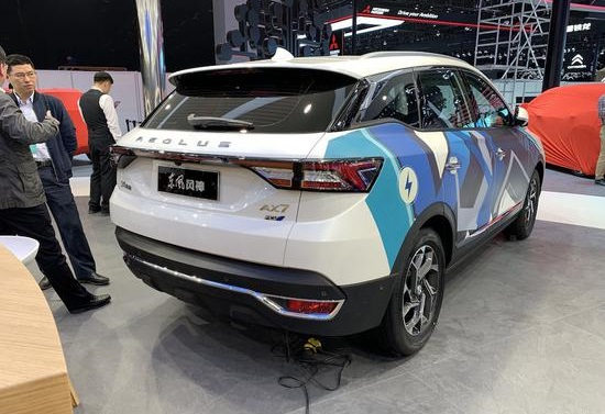 This is Dongfeng-Fengshen AX7 FCV Unveiled on 2019 Shanghai Auto Show