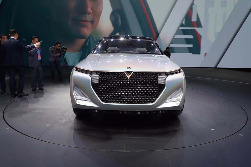 This is the Venucia The V Concept Car Debuted on 2019 Shanghai Auto Show