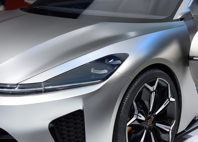 Enovate Motors Debuted Its Concept All-Electric Coupe - Enovate ME-S on 2019 Shanghai Auto Show