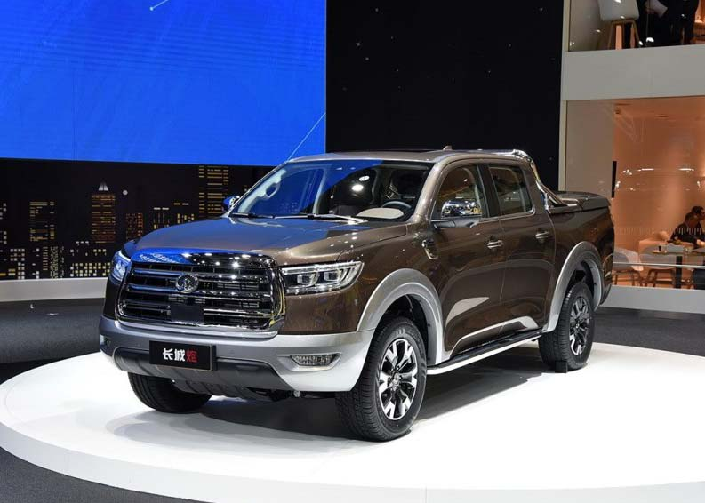 2019 GWM P-Series (Pao) Passenger Pickup Technical Specs