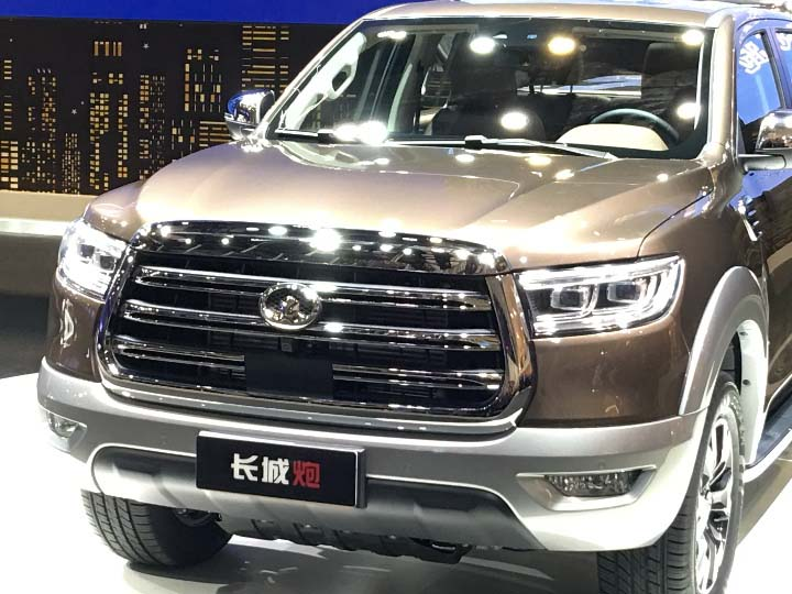 Great Wall Motors Debuted Pao Series Pickup at 2019 Shanghai Auto Show