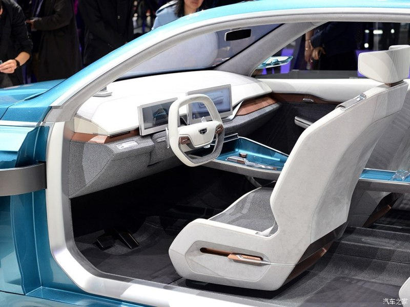 Geely Auto Debuted Geely Preface Concept Car, the Prototype of Geely FS11