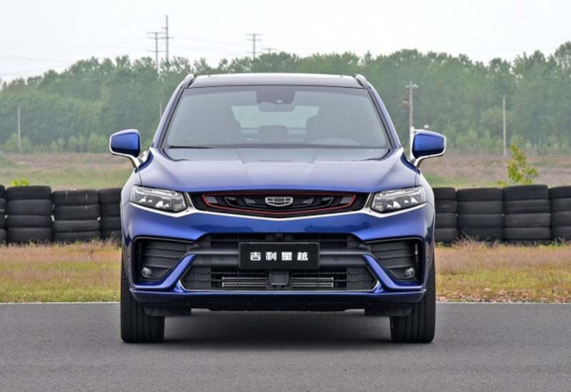 Geely's First Coupe SUV Geely Xingyue is Ready in China Market, Powered by Volvo 2.0T, 0-100kmh in 6.8s