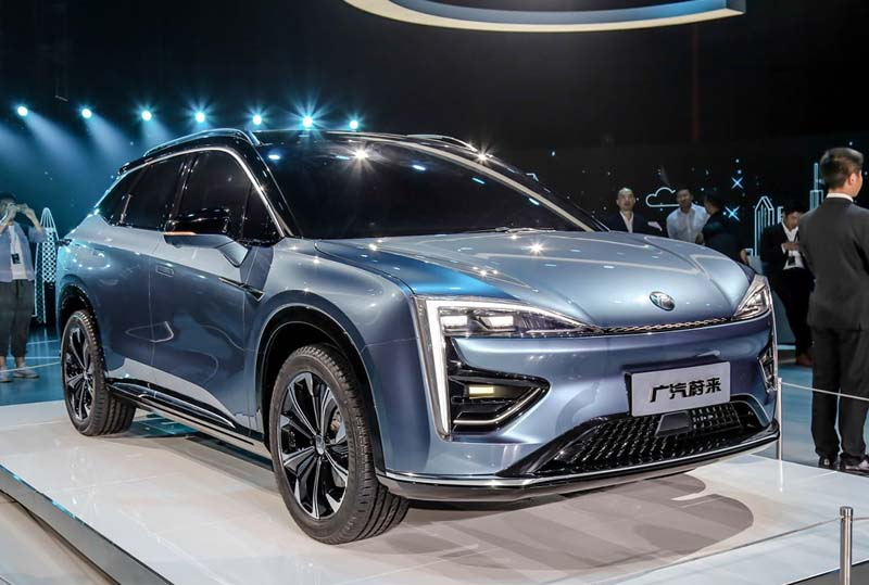 HYCAN, The joint venture of GAC-NIO's First EV Went Offline, To Release by the end of 2019