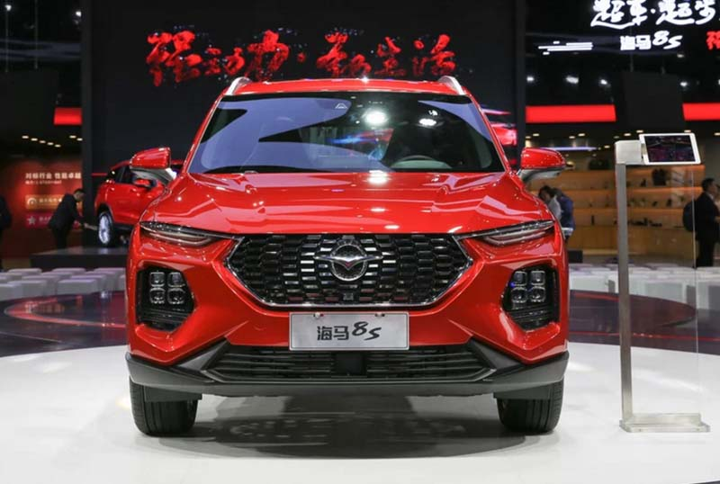 Haima Motor Released Its new Flagship SUV model Haima 8S, 1.6T Engine, 0-100kmh Less than 8S