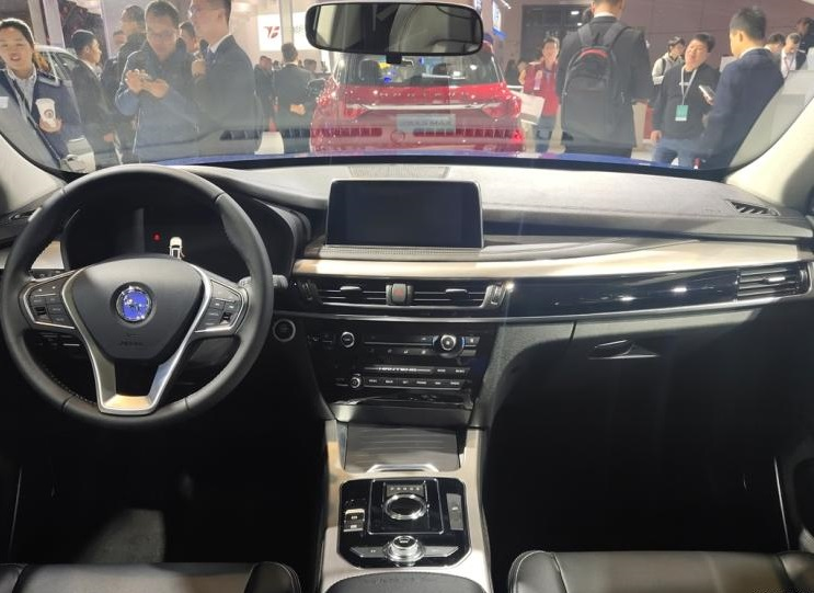 Hanteng Auto Debuted Its Fuel Cell Technology - The Hanteng FCV at 2019 Shanghai Auto Show