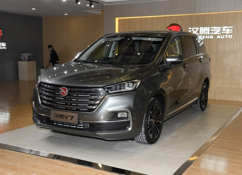 Hanteng Autos Launched Its First MPV - Hanteng V7, Price Starts at 95,800yuan in China Market