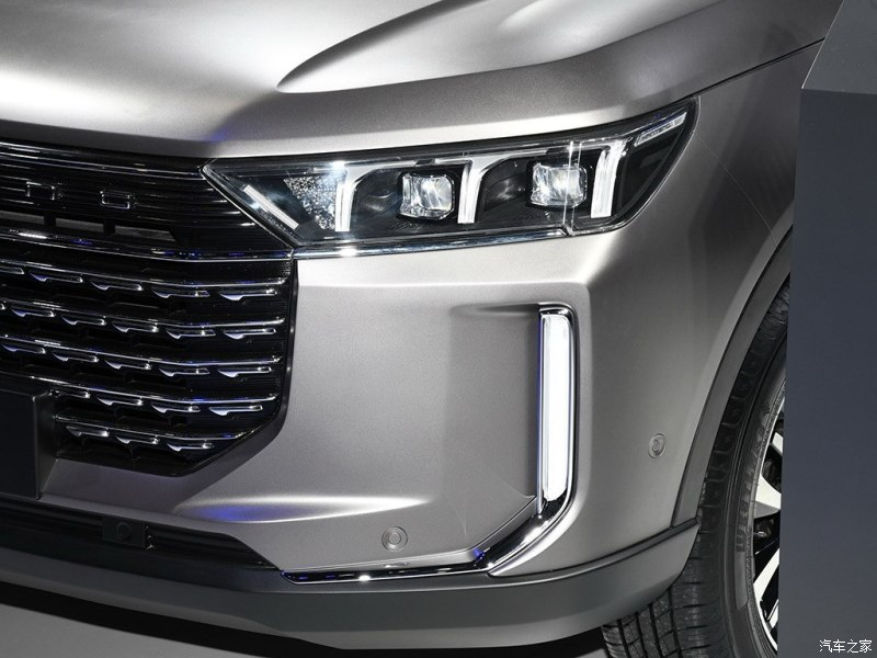 Hanteng Released New SUV Hanteng X8 in 2019 Shanghai Auto Show