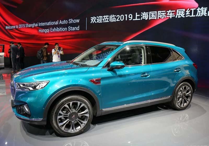 Hongqi's 1st SUV Hongqi HS5 to be Ready in China Market Soon