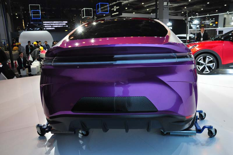 Hozon Auto Debuted Eureka 02 Concept Car at 2019 Shanghai Auto Show