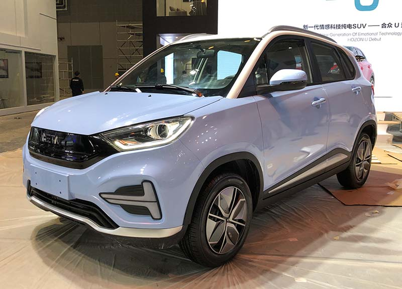 2020 Hozon Nezha N01 (EV) Technical Specs