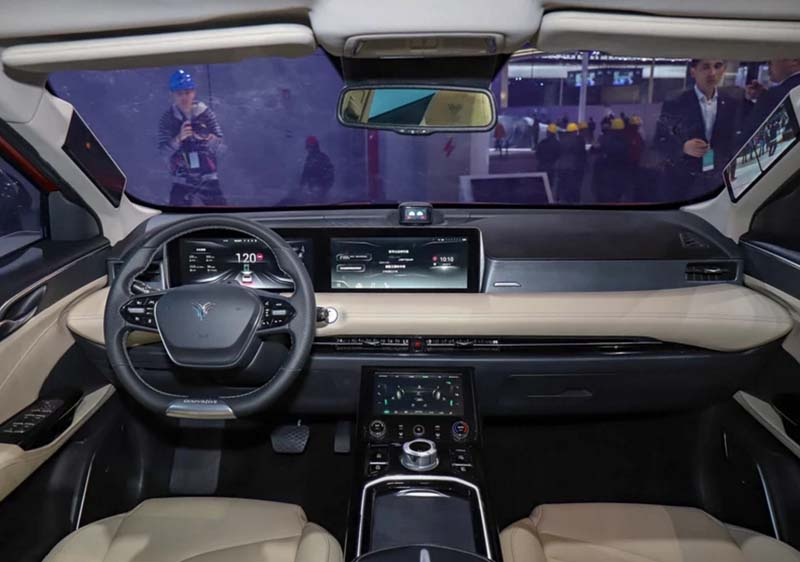 Hozon Auto Launched Its 2nd All-Electric SUV - Hozon  U At 2019 Shanghai Show and Opened for Pre-sale