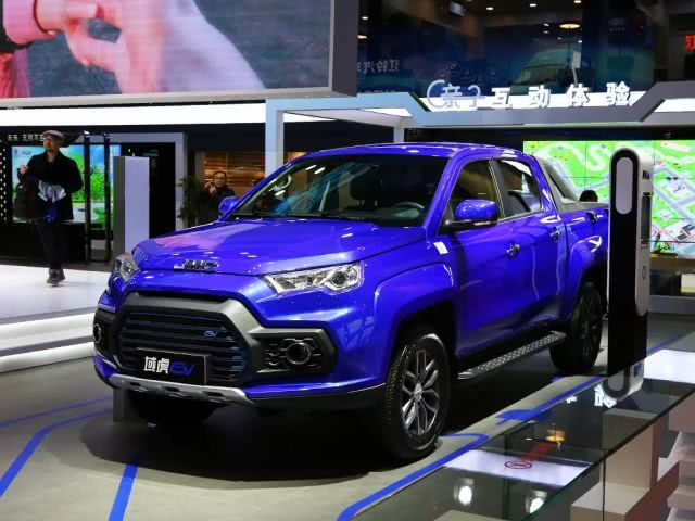 JMC Debuted Its First All-Electric Pickup - the YUHU EV Based on YUHU-7