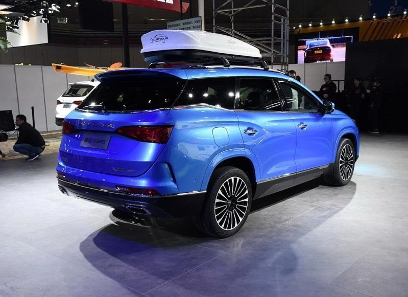 Chery Flagship SUV Jetour X95 Unveiled At 2019 Shanghai Auto Show