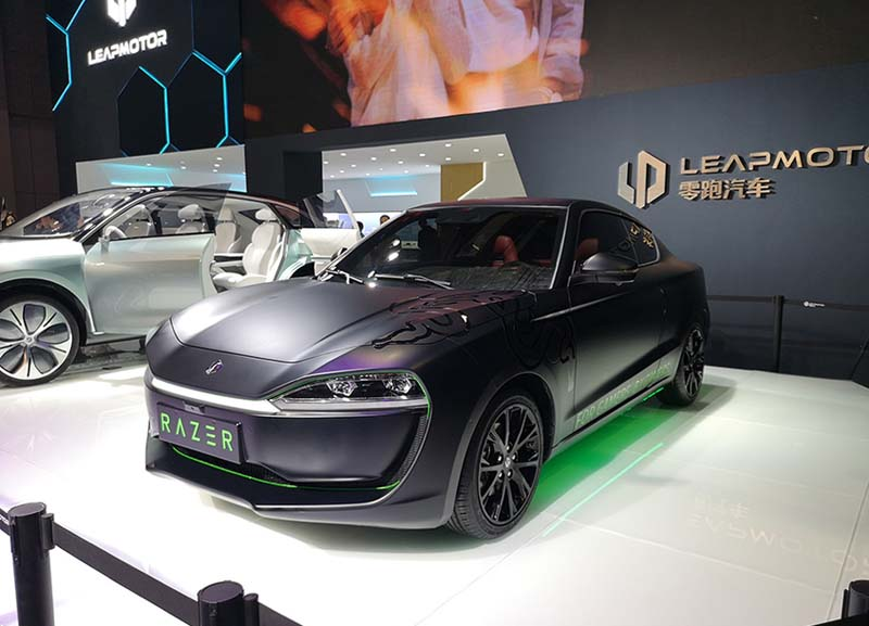 Leapmotor S01 Has a Razer Chroma Edition and Unveiled at 2019 Shanghai Auto Show