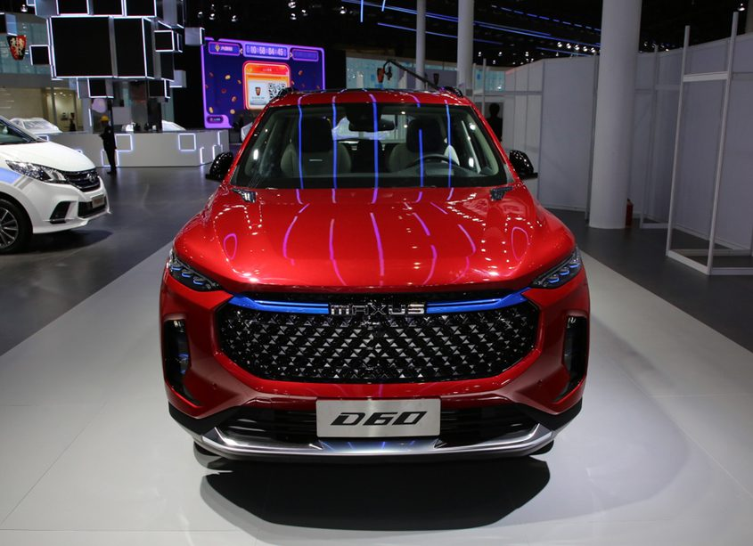 SAIC-MAXUS Released a PHEV version MAXUS D60e at 2019 Shanghai Auto Show