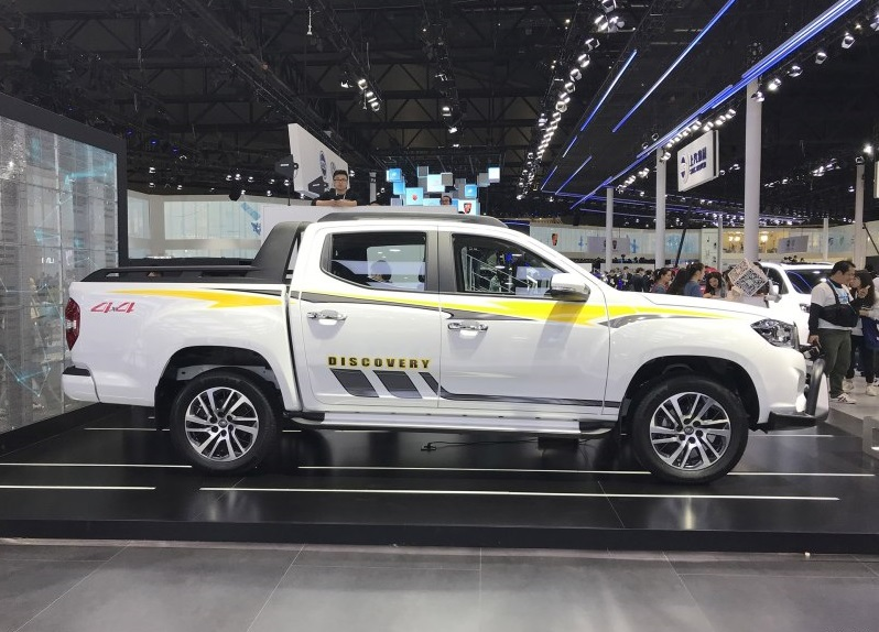 SAIC MAXUS Released MAXUS T70 Pickup on 2019 Shanghai Auto Show, Powered by SAIC π Diesel Engine