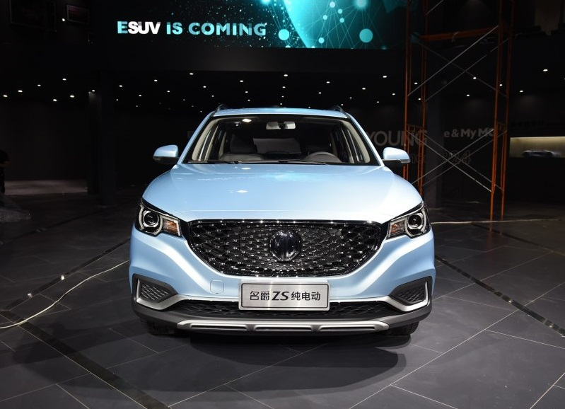 MG Brought Its First All-Electric MG EZS (MG ZS-EV) Back to London