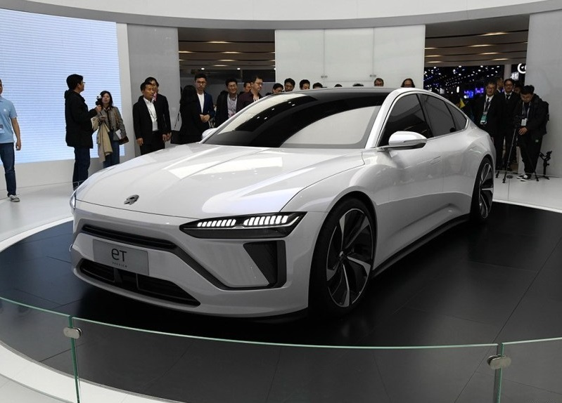 New patent shows NIO's new car to be equipped with co-driver entertainment screen