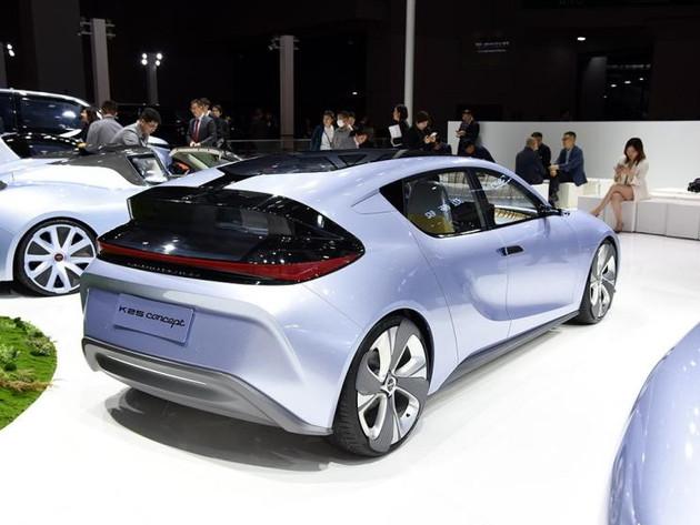 Qiantu Motor Debuted Its new Concept EV K25 on 2019 Shanghai Auto Show