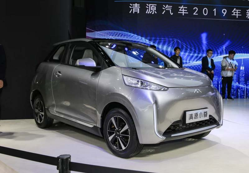 Qingyuan Auto Released its First Electric Minicar Qingyuan Xiaozun, Range of 248miles