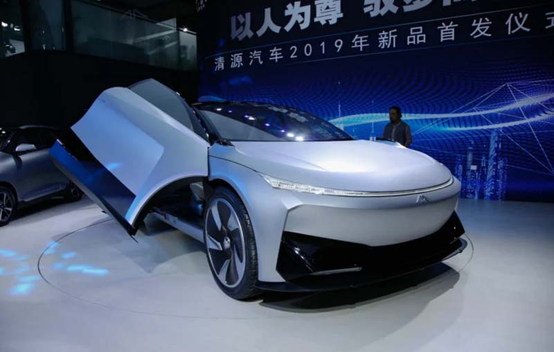 Qingyuan Auto New EV Named Qingyuan Zunzhe, Debuted At 2019 Shanghai Auto Show