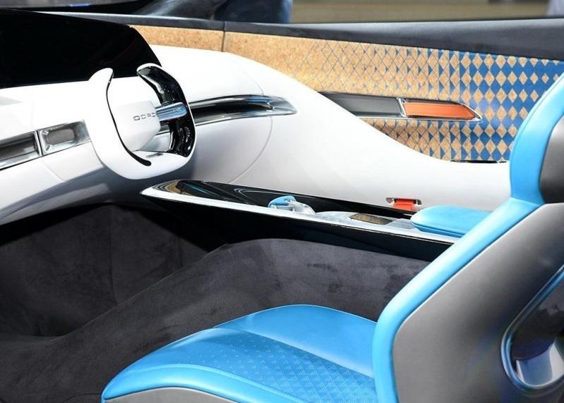Qoros Auto Debuted Qoros MILE II Concept Coupe on 2019 Shanghai Auto Show