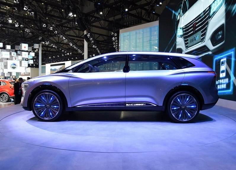 This is Roewe Vision-i Concept Car Debuted on 2019 Shanghai Auto Show