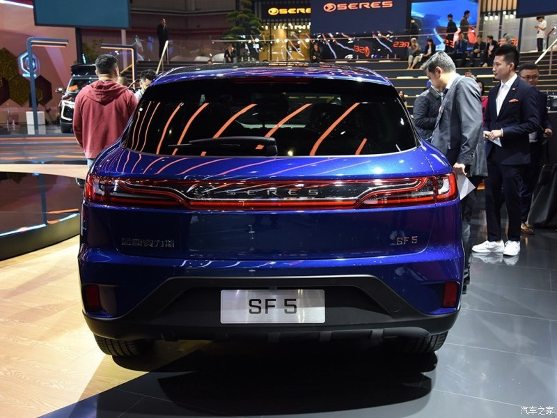 Jinkang SERES Released Its First Electric SUV: SERES SF5, Range up to 310miles