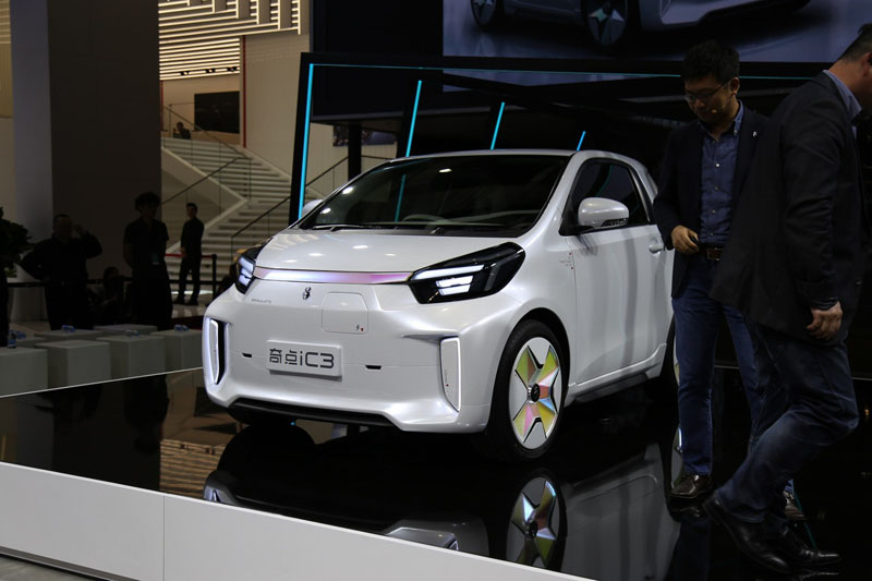 ZHICHE Auto Debuted SINGULATO iC3, a Electric Minivan Based on Toyota iQ EV