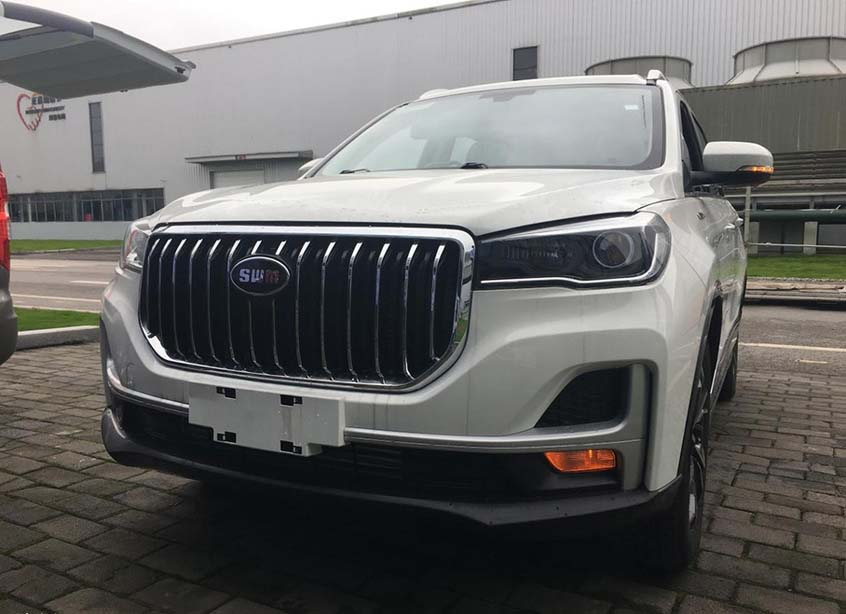 SWM Motors' 7-Seat SUV G05 to be Launched in China Market Soon