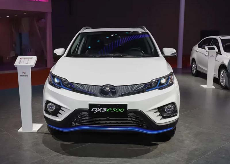 2019 Soueast DX3 EV Technical Specs
