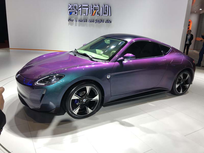 China's Porsche 911? Guoji Zhijun Auto Debuted Its Electric Coupe ZEDRIV GT3, A Combination of Porsche 911 and Cayman