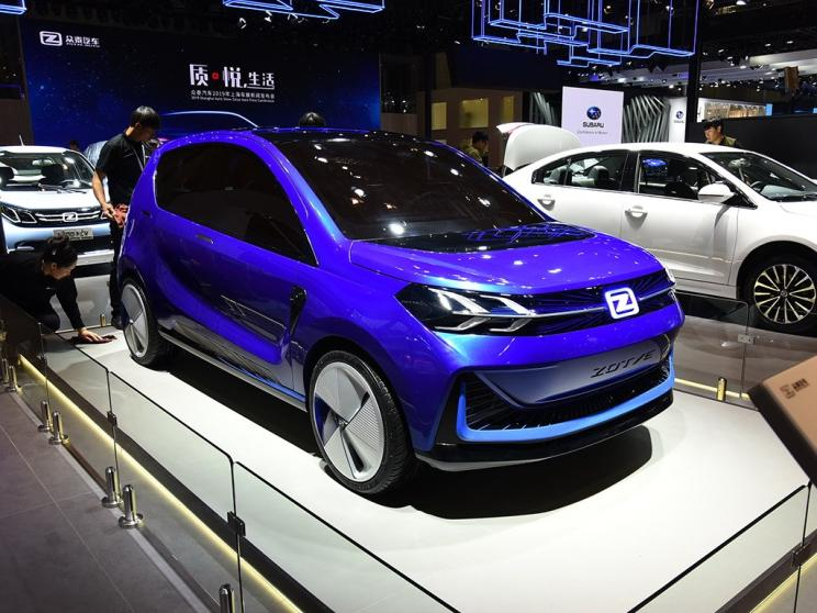 Zotye Auto Debuted Zotye ES330 Concept Car Based on Yun100 on 2019 Shanghai Auto Show
