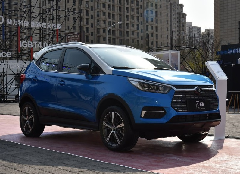2019 BYD YUAN EV Technical Specs