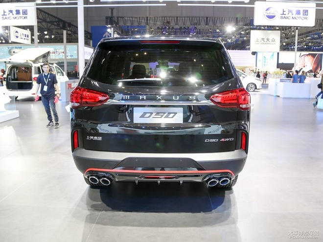 2019 SAIC MAXUS D90 Is Ready In China Market, Price Starts At ~US22,662