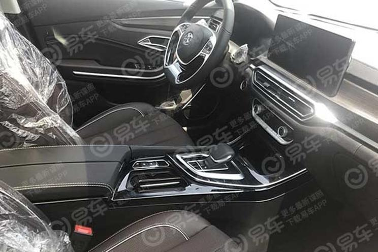 BAIC SENOVA Zhidao Will Soon Have A Sibling: The All-Electric BAIC EU7 Naked Its Interior
