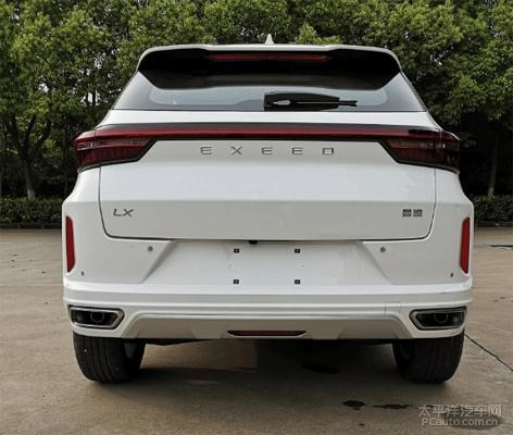 Exeed LX from Chery Auto Will Be Soon Ready in China Market