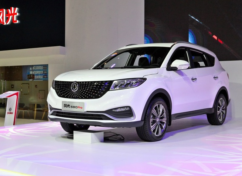 Dongfeng Fengon 580 Pro Is Almost Ready in China Market