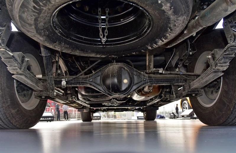 Dongfeng Rich 6 Pickup is a Rebadging Nissan NAVARA