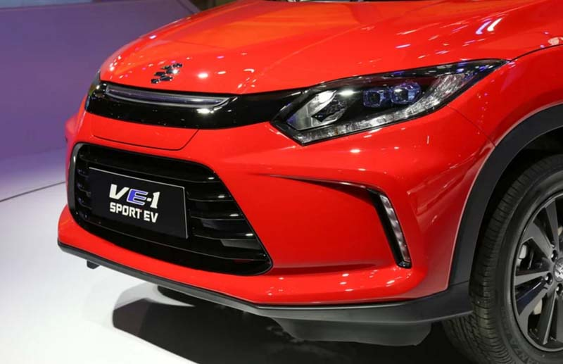 EVERUS VE-1 EV Is the Badge-Engineered Hongda VEZEL