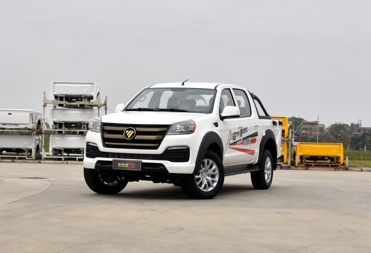 Foton Motor's Flagship Pickup Tunland E7 Is Ready In China Market