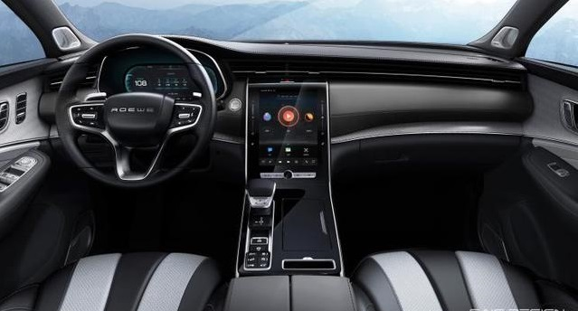 Huge Central Control Display! Roewe Unveiled The Interior of RX5 MAX