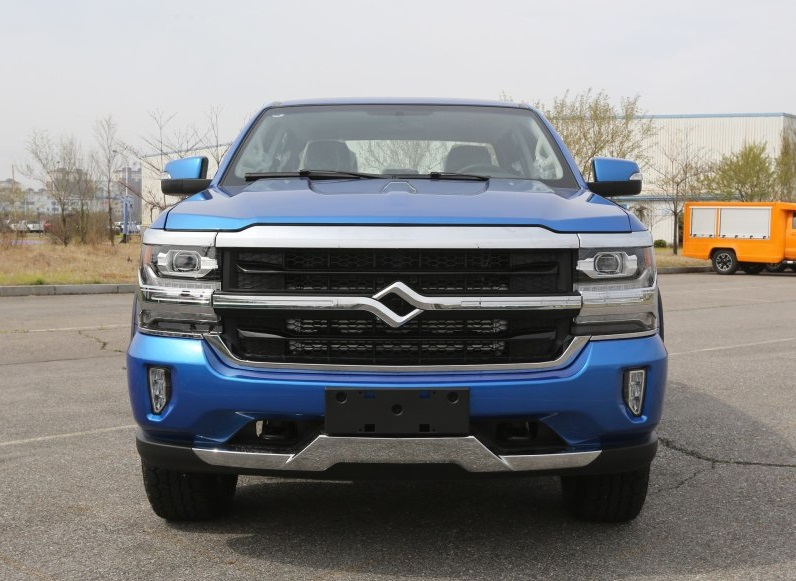 China's Silverado? Huanghai N7 Pickup from SG Automotive is Ready in China Market