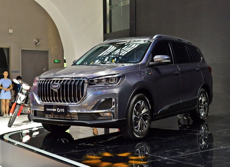 SWM Motor's 7-Seat SUV G05 Debuted on 2019 Chongqing Auto Show