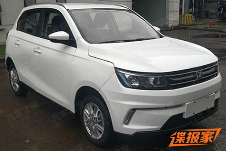 Zotye T100 EV Unveiled on MIIT China