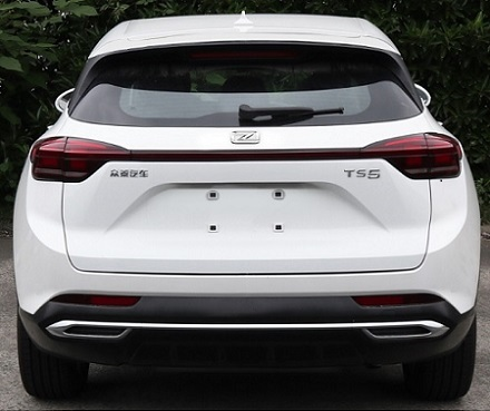 Zotye's New SUV A16 to be Named Zotye TS5, Powered by 1.5T Engine