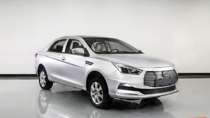 "New BYD e5 is Revealed with ""Dragon Face"" Design Language"