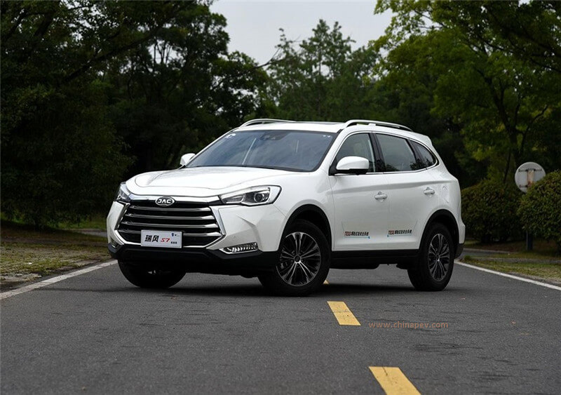 2018 JAC Refine S7 (Ruifeng S7) Technical Specs